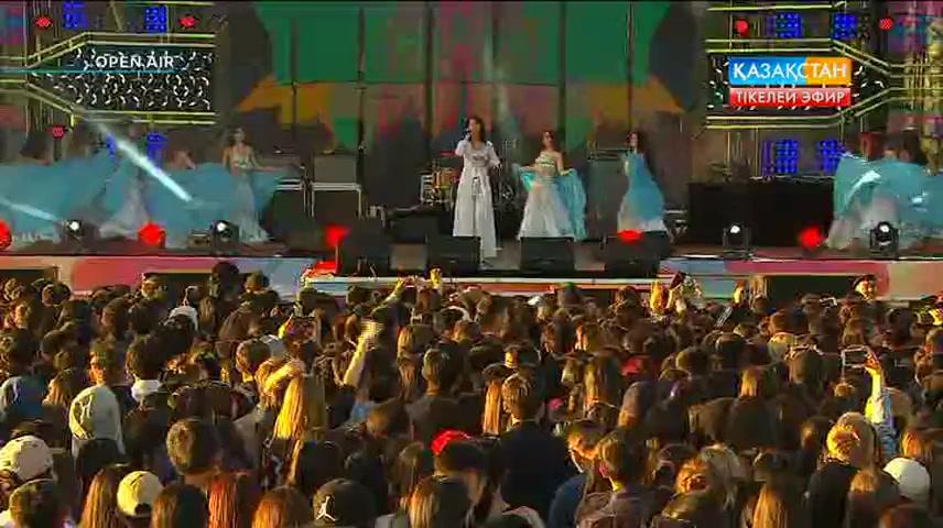 Карина Каренина — «Ты меня не зови». [Open Air. Астана. 01.06.2016]