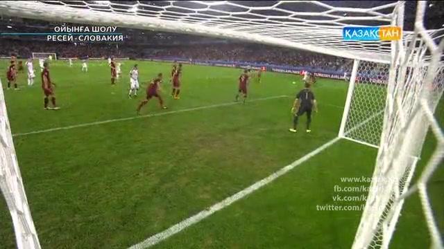UEFA EURO 2016. Ресей - Словакия. Ойынға шолу (16.06.2016)