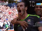 UEFA EURO 2016. Англия - Уэльс. Ойынға шолу (17.06.2016)