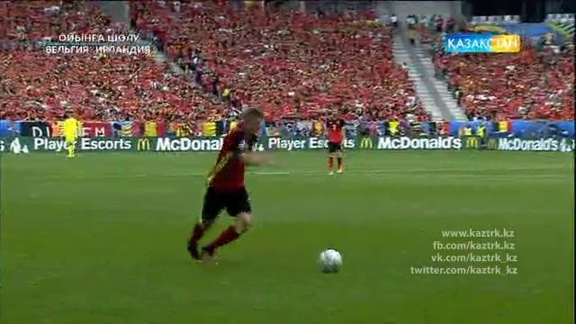UEFA EURO 2016. Бельгия - Ирландия. Ойынға шолу (19.06.2016)