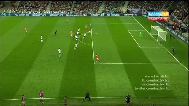 ФУТБОЛ. UEFA EURO 2016. «ФРАНЦИЯДАҒЫ ФУТБОЛ ТОЙЫ». ТІКЕЛЕЙ ЭФИР