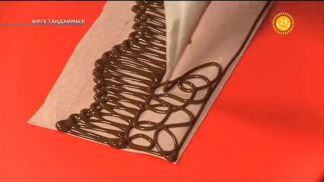 Десертті шоколадпен әрлеу тәсілдері