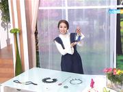 Бүгін 13:00-де «Бірге таңдаймыз!» хабарында отандық дизайнер пластмассадан әшекей бұйымын жасайды.