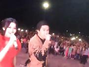 Талдықорғанда Төреғали Төреәлінің концертін тамашалауға 25 мың халық жиналды