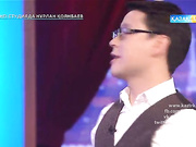 «Түнгі студияда Нұрлан Қоянбаев». Данагүл Темірсұлтанова