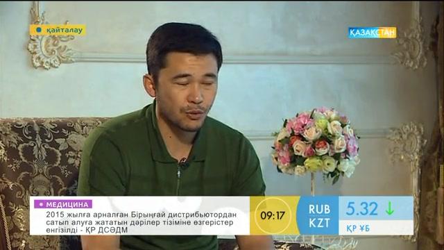 Театр және кино актері  Еркебұлан Дайыров - «Таңшолпан» студиясында қонақта