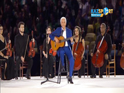 Оригинальная интерпретация Гимна Бразилии на церемонии открытия ОИ