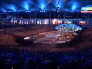 Рио-2016. Олимпиада сақиналарының ашылуы