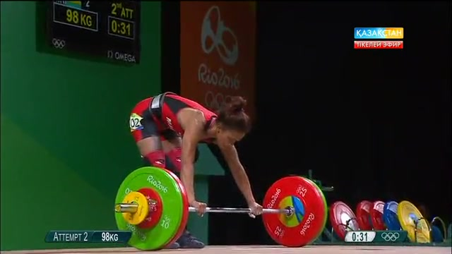 Олимпиада-2016. Ауыр атлетика (Әйелдер)