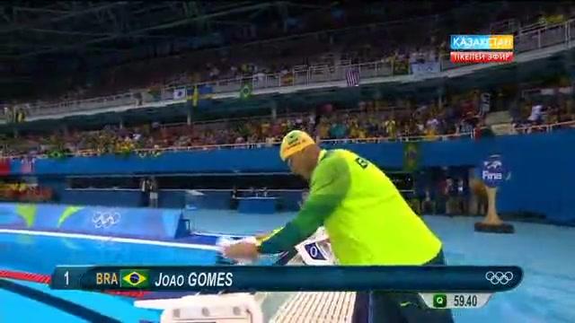 Дмитрий Баландин спорттық мансабындағы алғашқы Олимпиада ойындарында 8-орынды иеленді