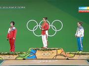 Рио-2016. 63 келіге дейінгі салмақтағы зілтеміршілерді марапаттау сәті