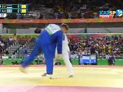 Дзюдошы Максим Раков Рио Олимпиадасындағы алғашқы белдесуін сәтті өткізді