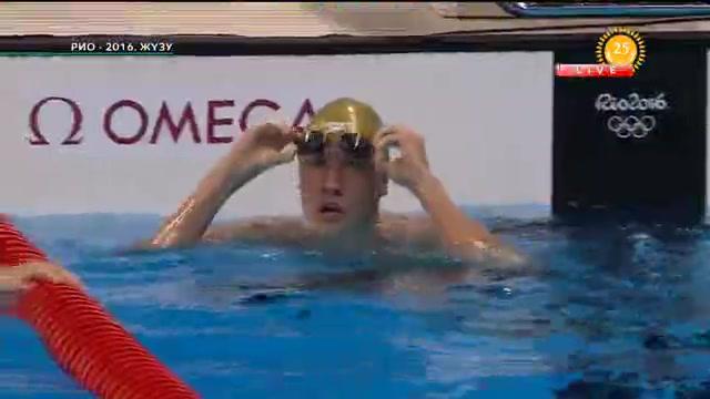 Дмитрий Баландин жүзуден Олимпиада чемпионы атанды