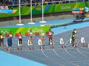 Ольга Сафронова 100 метрге жүгіруден Олимпиада ойындарының жартылай финалына өте алмады
