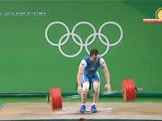 Александр Зайчиков ауыр атлетикадан қола медаль жеңді (ВИДЕО)