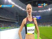 Жеңілатлет Романова Олимпиада ойындарының жартылай финалына өте алмады