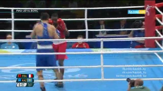 Данияр Елеусінов Рио Олимпиадасының финалында