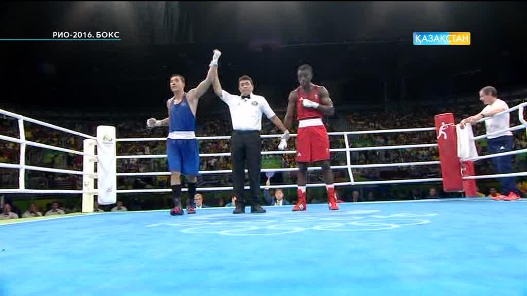 Әділбек Ниязымбетов Олимпиада ойындарының финалына шықты