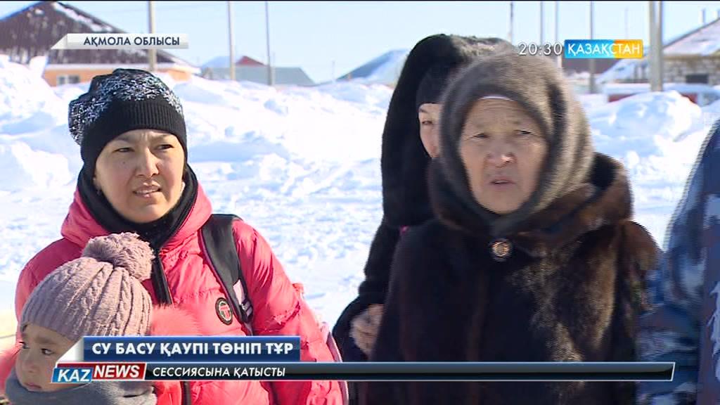 Астана іргесіндегі ауылдарға су басу қаупі төніп тұр