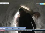 Павлодар өңіріндегі бірқатар шалғай ауылдар қар құрсауында қалды