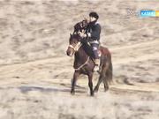Маңғыстаудағы Отпан тауда «Сонар-2017» құсбегілер жарысы өтті