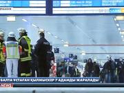 Германияда балта ұстаған қылмыскер 7 адамды жаралады