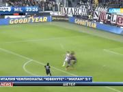 Италия чемпионаты. «Ювенутс» - «Милан» 2:1