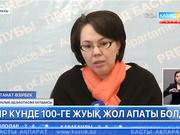 Алматыда бір күнде 100-ге жуық жол апаты болды