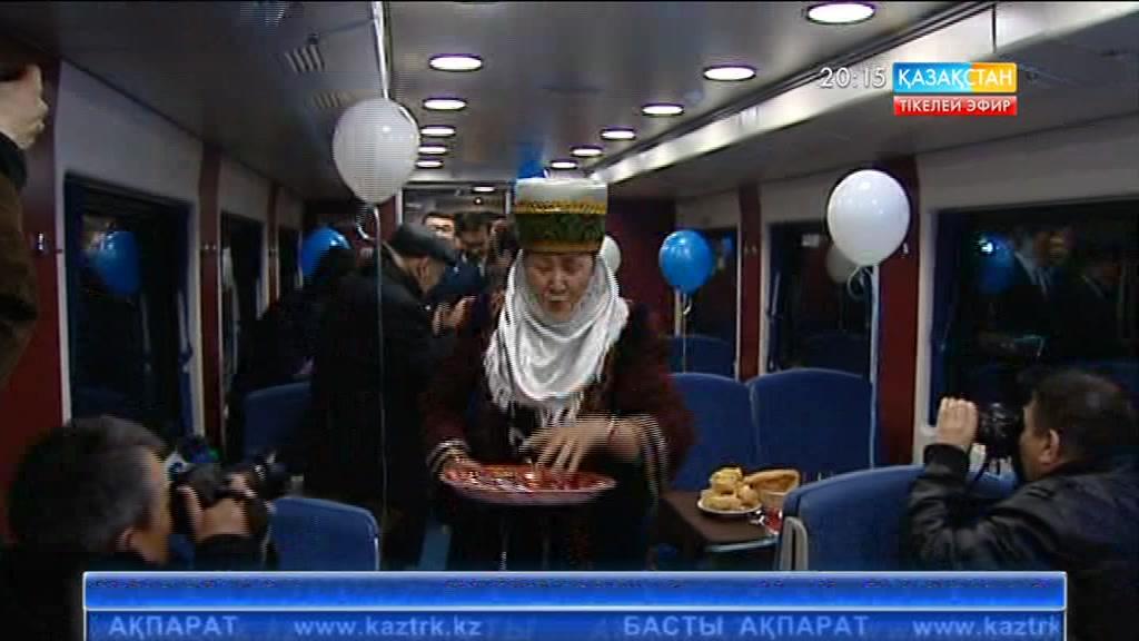 Алматы-Ташкент пойызы жолға шықты