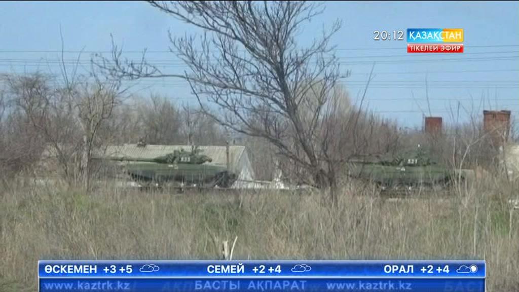 Украина маңына танкілер жеткізілді