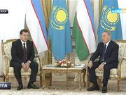 Ұлыстың ұлы күні Өзбекстанның Президенті Шавхат Мирзиеев Астанаға мемлекеттік сапармен келді