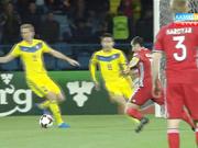Футбол. Армения-Қазақстан матчының бірінші таймы аяқталды