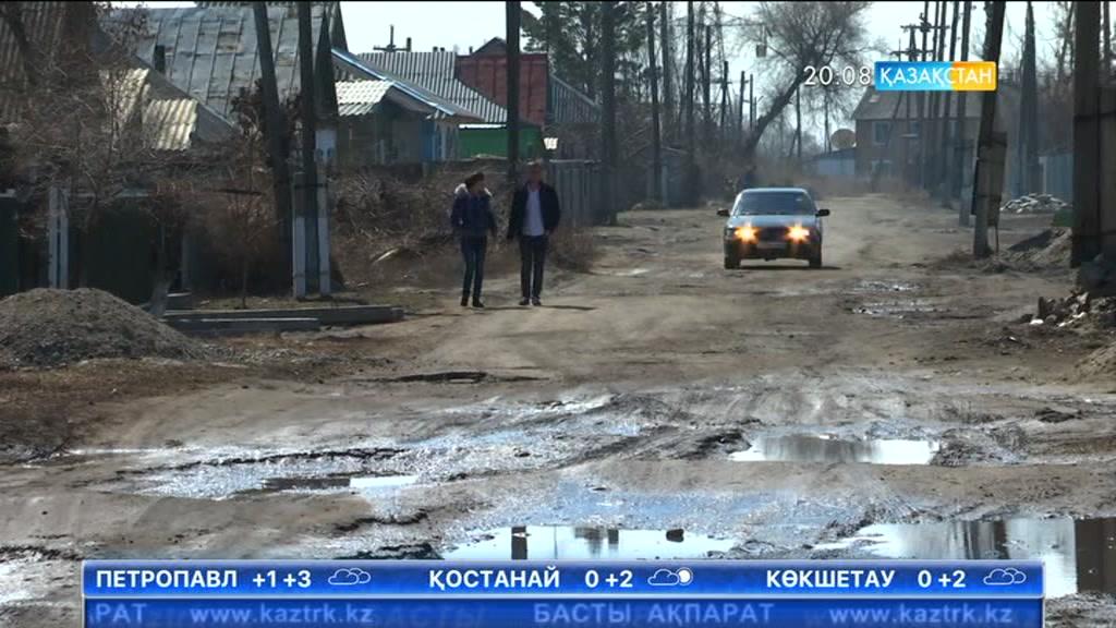 Алматы облысындағы Үштөбе қаласының көшелерінен көрік кетті