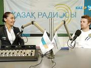 """""""Kazsport"""" на """"Казахском радио"""". Андрей ГОЛУБЕВ"""