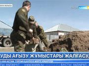 Ақмола облысындағы Талапкер ауылының бірнеше көшесін су басты