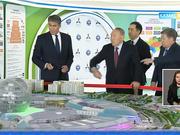 Елбасы «Астана ЭКСПО» нысандарын аралады