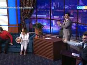 Түнгі студияда Нұрлан Қоянбаев - «Бір сен үшін» фильмінің бас актерлері А.Сатыбалды, З.Кармен (Толық нұсқа)