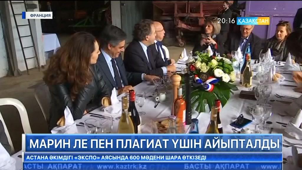 Франция президенттігіне кандидат Марин Ле Пен плагиат үшін айыпталды