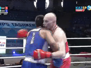 Василий Левит - Санжар Турсунов. Чемпионат Азии-2017