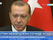 Путин мен Ердоған Сочиде кездесті
