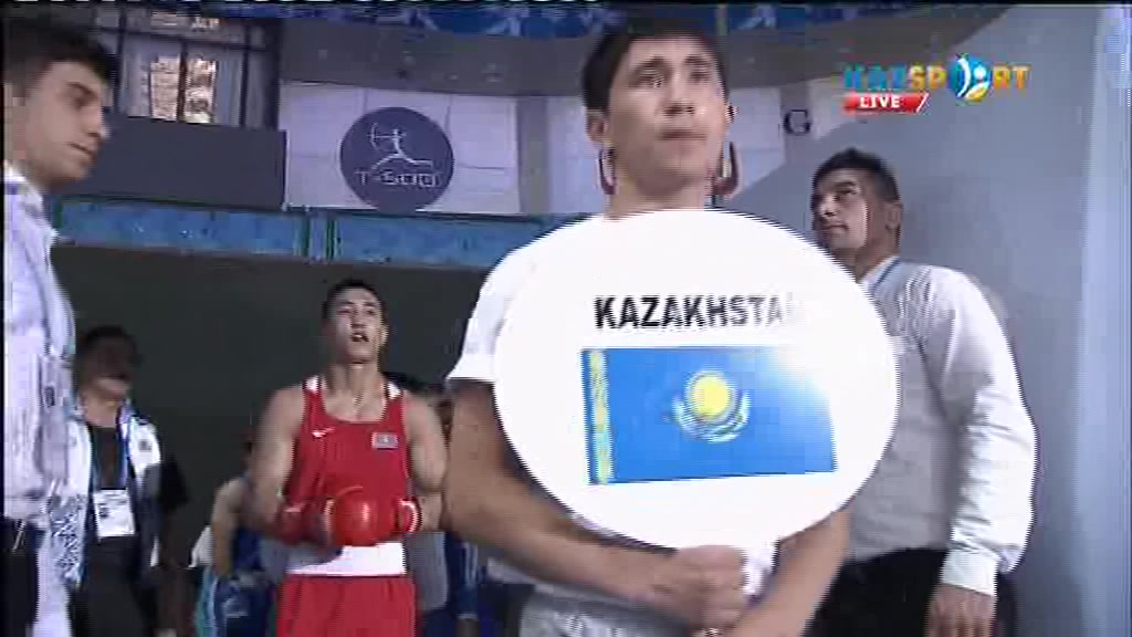 Видео боя Аманкул - Азиз