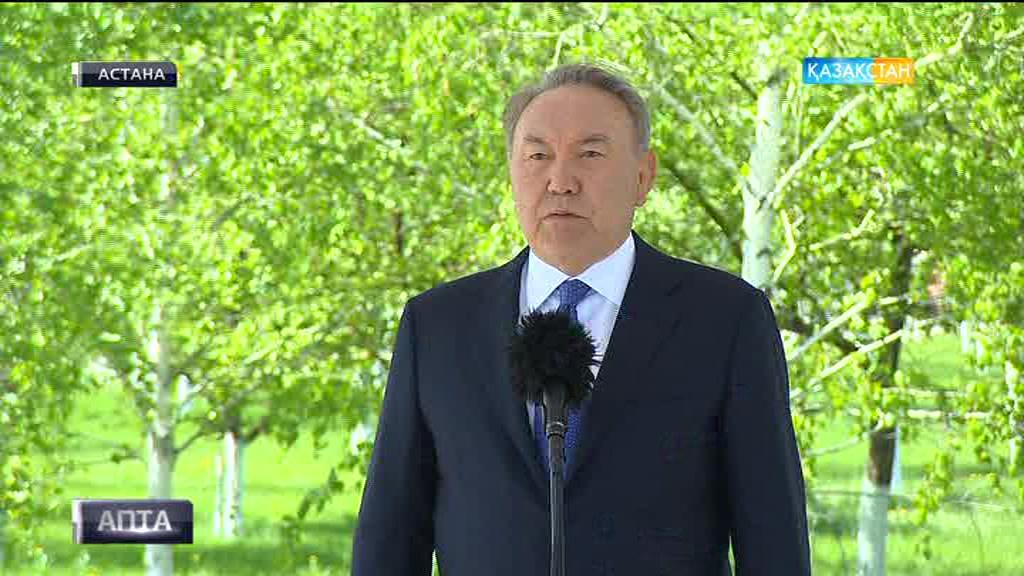 Осы аптада Мемлекет басшысы Нұрсұлтан Назарбаев екінші дүниежүзілік соғыс қаһармандарының рухына тағзым етті