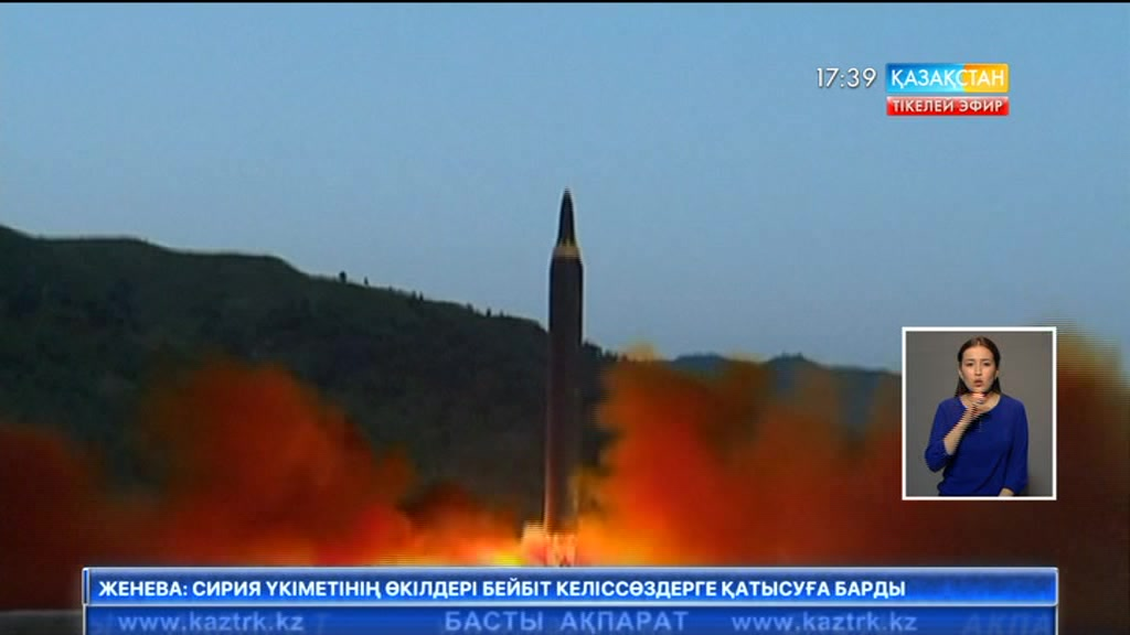 Пхеньян баллистикалық зымыранды сынады