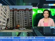 Алматыдағы Алғабас ықшамауданында тағы бір үйдің қабырғасы қисайған