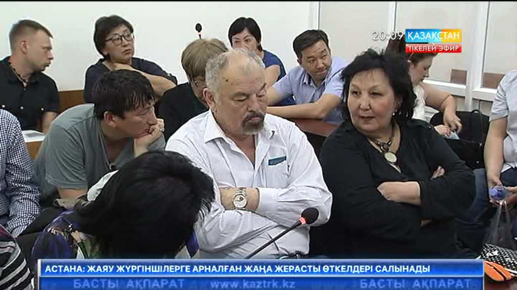 Алматыда Халық әртісі Тұңғышбай Жаманқұловқа қатысты сот ісінің жарыс сөзі өтті