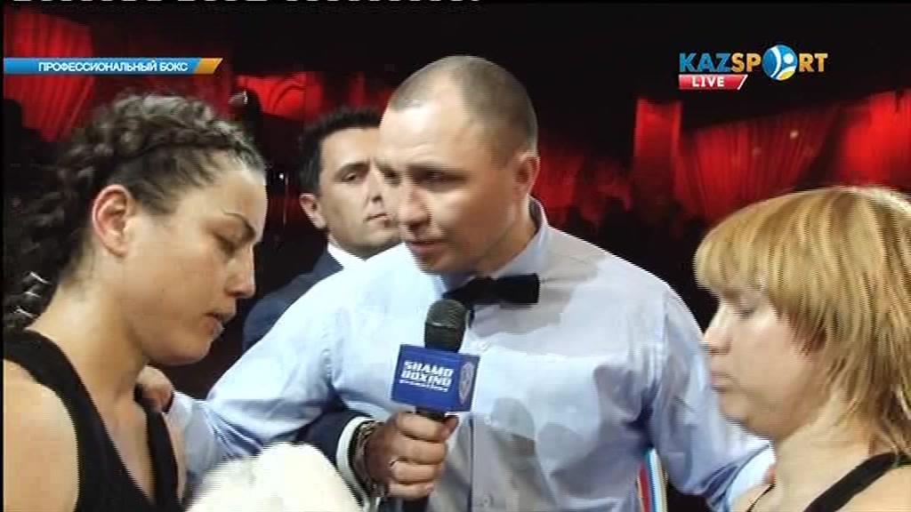 Қазақстандық боксшы Фируза Шарипова ресейлікОльга Забавинаны техникалық нокаутпен жеңді
