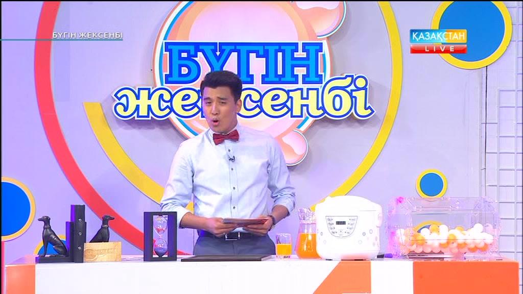 Бахтияр Артаев «Бүгін жексенбі» студиясында қонақта