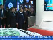 Мемлекет басшысы мен Си Цзиньпин ЭКСПО өтетін алаңды аралап, Қытай павильонына барды