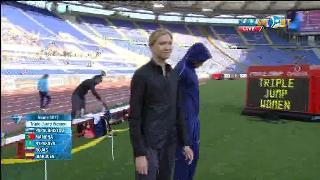 Ольга Рыпакова заняла третье место в «Бриллиантовой Лиге» (ВИДЕО)