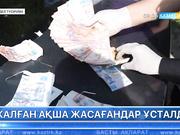 Алматы облысында жалған ақша жасағандар ұсталды